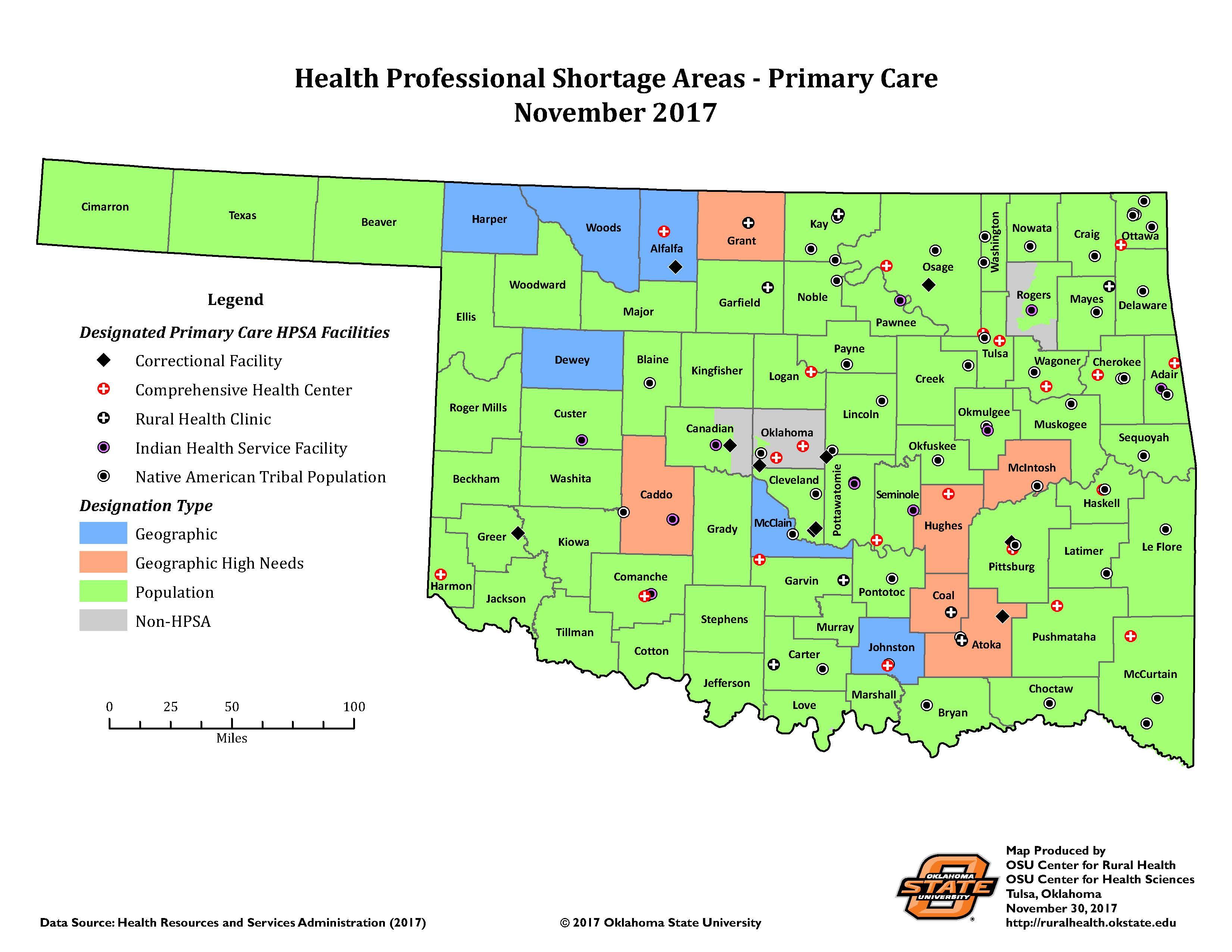 OSU Rural Health: 2017